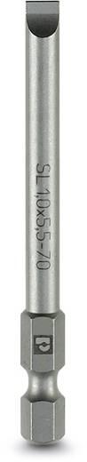 Schlitz-Bit 3 mm Phoenix Contact SF-BIT-SL 0,5X3,0-70 Werkzeugstahl zähhart, legiert E 6.3 5 St.