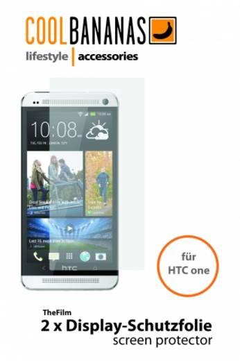 Cool Bananas 9042636 Displayschutzfolie Passend für: HTC One 1 St.