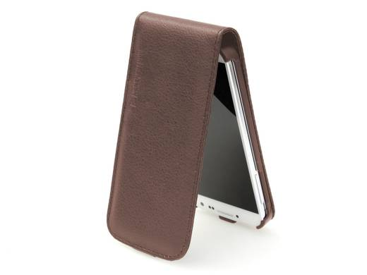 LederCase Cool Bananas Flip 'n Talk Braun Samsung S IV
