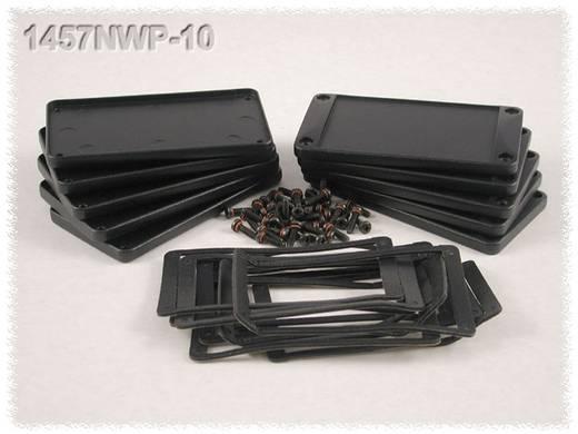 Endplatte ohne Flansch (L x B x H) 5 x 104 x 55 mm Aluminium Schwarz Hammond Electronics 1457NWP 2 St.