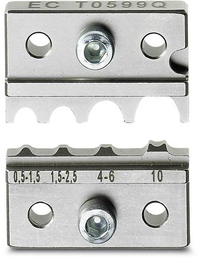 Crimpgesenk Kabelschuhe 0.5 bis 10 mm² Phoenix Contact CF 500/DE RC 10 1212244 Passend für Marke Phoenix Contact 4678