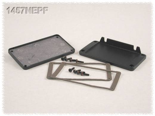 Endplatte ohne Flansch (L x B x H) 5 x 104 x 55 mm Aluminium Schwarz Hammond Electronics 1457NEP 2 St.