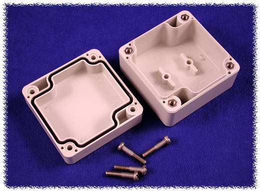 Universal-Gehäuse 65 x 65 x 40 Polycarbonat Grau Hammond Electronics 1554B2GY 1 St.