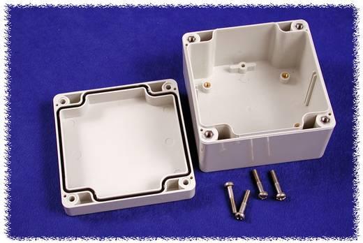 Universal-Gehäuse 90 x 90 x 60 Polycarbonat Grau Hammond Electronics 1554E2GY 1 St.