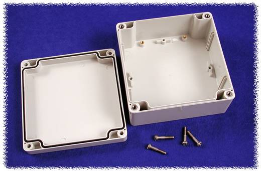 Universal-Gehäuse 120 x 120 x 60 Polycarbonat Grau Hammond Electronics 1554N2GY 1 St.