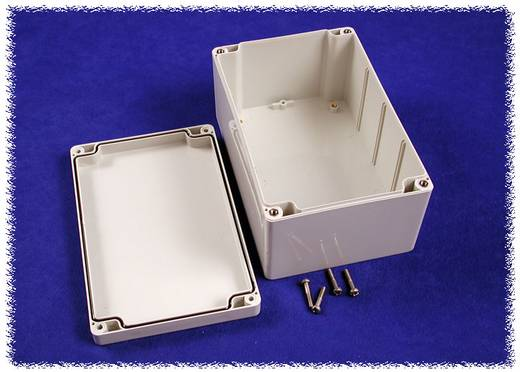Universal-Gehäuse 160 x 160 x 60 Polycarbonat Grau Hammond Electronics 1554R2GYSL 1 St.