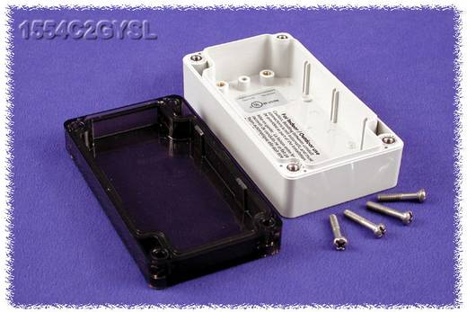 Hammond Electronics 1554C2GYSL Universal-Gehäuse 120 x 65 x 40 Polycarbonat Grau 1 St.