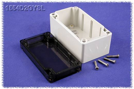 Universal-Gehäuse 120 x 65 x 60 Polycarbonat Grau Hammond Electronics 1554D2GYSL 1 St.