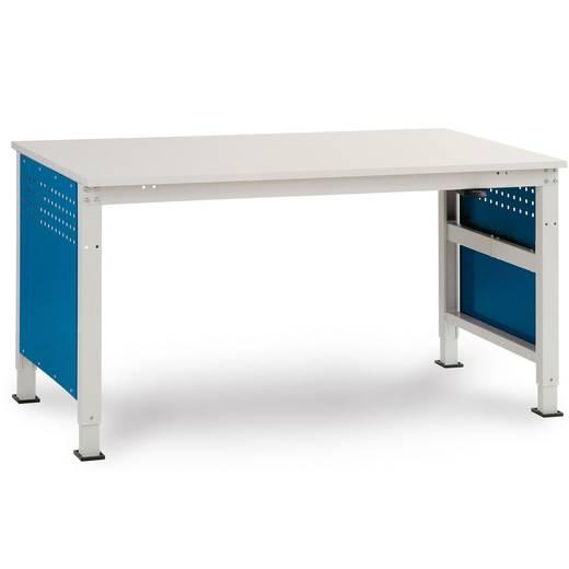 Manuflex LD4702.0002 Komplett Gehäuse 300 für UNIDESK-Tisch, mit 2 Schubfächer,1 x 100, 1 x 200 Korpus: 7035 lichtgrau leitfähig Schubfächer: 5007 brillantblau leitfähig