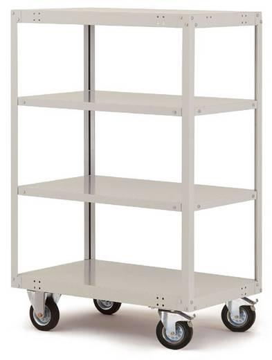 Regalwagen Stahl pulverbeschichtet Traglast (max.): 200 kg Manuflex TT4181.0001