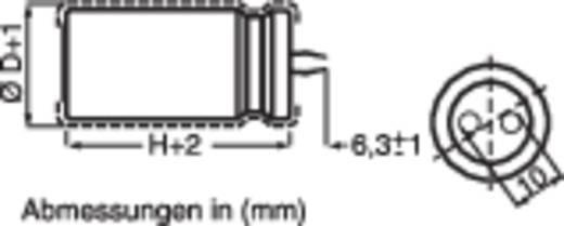 Elektrolyt-Kondensator 10 mm 2200 µF 50 V 20 % (Ø x H) 31 mm x 27 mm 1 St.