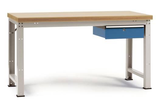 Manuflex WP5404.7035 Einzelwerkbank PROFI, komplett 1500x700x840 mm,Platte Multiplex RAL7035 lichtgrau (B x H x T) 1500