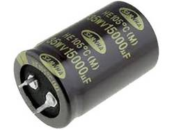 Kondenzátor elektrolytický, 4700 µF, 63 V, 20 %, 41,5 x 25,5 mm