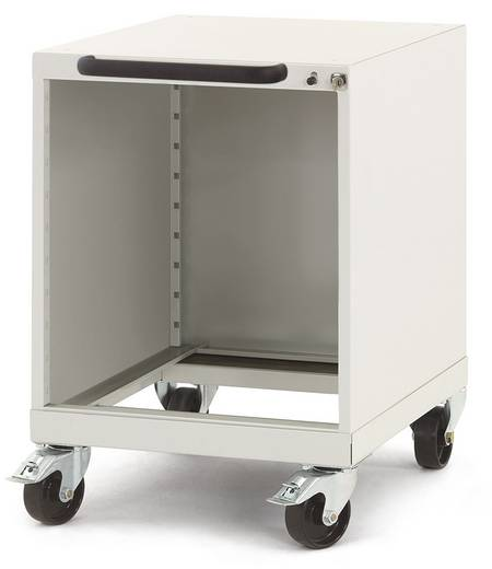 Manuflex SP0016.5012 Schubfachschrank PROTEC mobil mit Einzelauszugssperre und Schubfachsicherung ohne Schubfächer 500 m