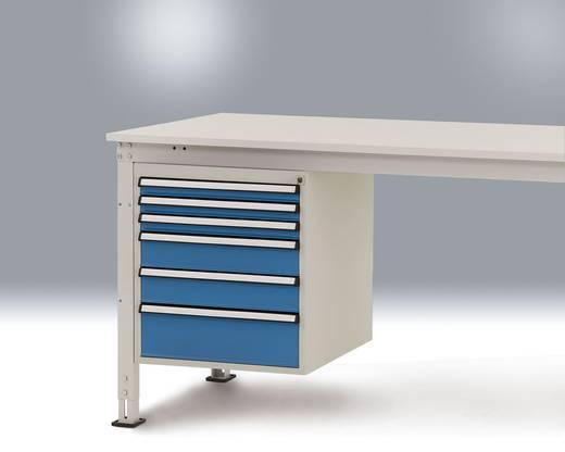 Manuflex ZB4913.5021 Arbeitstisch Unterbauschrank 500 UNIVERSAL Wasserblau (B x H x T) 500 x 560 x 580 mm