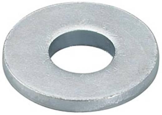 Unterlegscheibe Innen-Durchmesser: 10.5 mm Stahl galvanisch verzinkt 100 St. Fischer U 79730