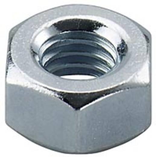 Sechskant-Mutter M12 Stahl 100 St. Fischer MU M 12 24650