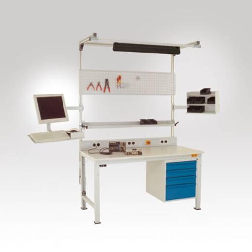 LZ3544 Langfeldleuchte 2x36W m.verspiegeltem Parabolraster, 230V/50 Hz BxTxH 909x90x105 mm Leuchtengehäuse aus ALU ESD-
