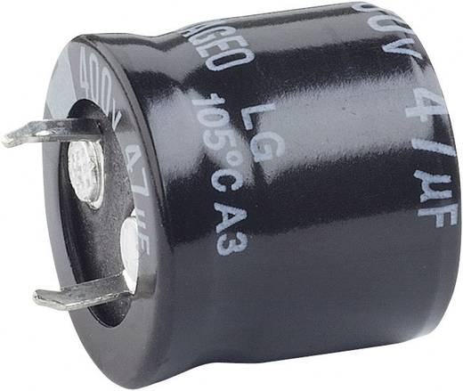 Elektrolyt-Kondensator SnapIn 10 mm 220 µF 250 V 20 % (Ø x H) 25 mm x 30 mm 1 St.