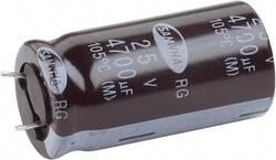 Snap In kondenzátor elektrolytický, 4700 µF, 25 V, 20 %, 40 x 22 mm