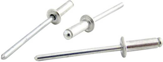 Blindniete (Ø x L) 4 mm x 12 mm Stahl Aluminium Bralo S1010NO4012 50 St.