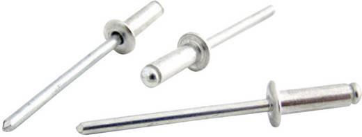 Blindniete (Ø x L) 4.8 mm x 18 mm Stahl Aluminium Bralo S1030004818 25 St.