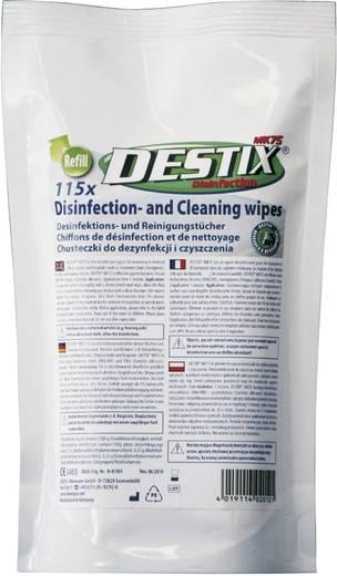 Destix DX2012 Oberflächen-Desinfektionstücher Refill-Beutel 1 Pckg.