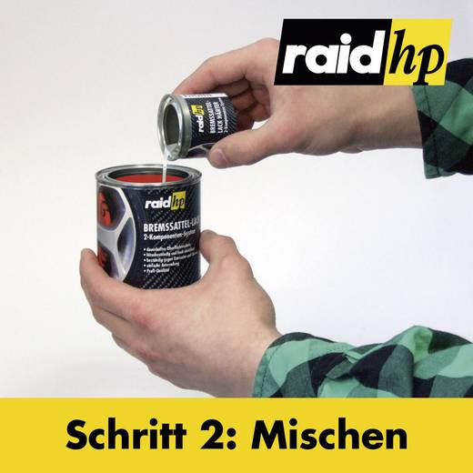Bremssattellack raid hp 350001 1 Set