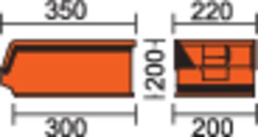 Lagerkasten 14/7-3Z leitfähig 7.2 l Schwarz (L x B x H) 350 x 220 x 145 mm
