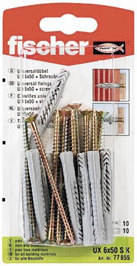 Universaldübel Fischer UX 6 x 50 SK 50 mm 6 mm 77855 10 St.
