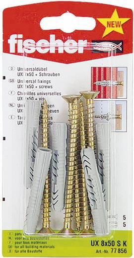 Universaldübel Fischer UX 8 x 50 SK 50 mm 8 mm 77856 5 St.