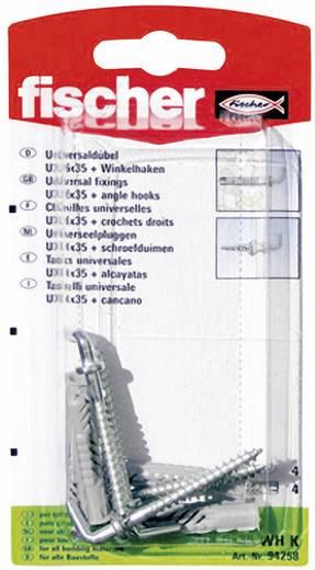 Universaldübel Fischer UX 6 x 35 WH K 35 mm 6 mm 94258 4 St.