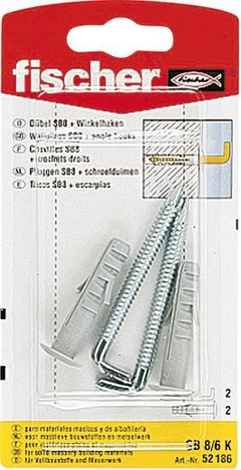 Spreizdübel Fischer SB 8/6 K 40 mm 8 mm 52186 2 St.