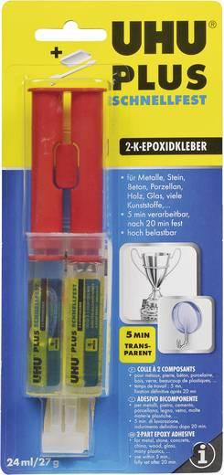 UHU Plus Schnellfest Spritze Zwei-Komponentenkleber 45725 27 g
