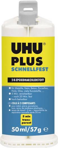 UHU Plus Schnellfest Zwei-Komponentenkleber 45740 50 ml