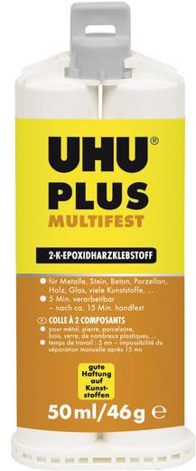 UHU Plus Multifest Zwei-Komponentenkleber 46925 50 ml