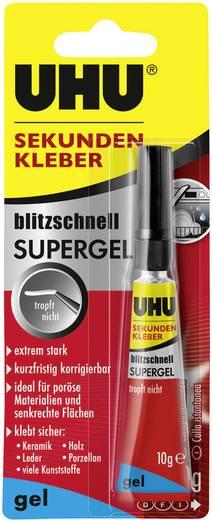 UHU blitzschnell Supergel Mehrzweckkleber 48720 10 g