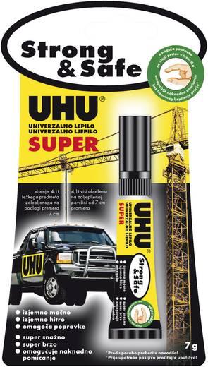UHU 50990 Alleskleber SUPER Strong & Safe 7 g