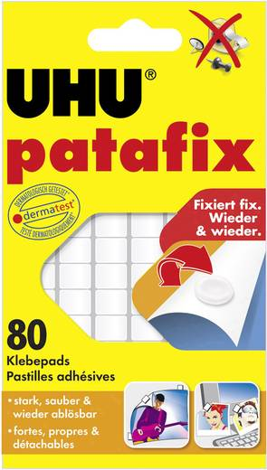 UHU patafix Klebepads Weiß 48810