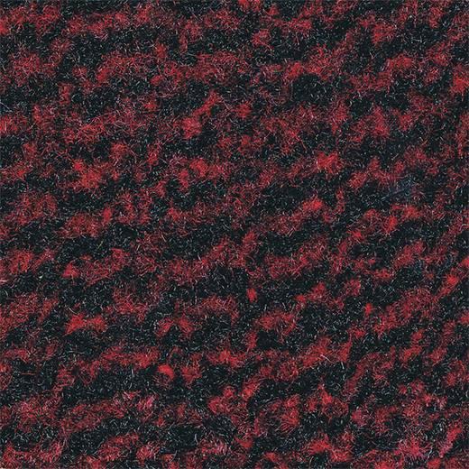 COBA Europe VP010308C Schmutzfangmatte Vyna-Plush Schwarz/Rot 1 m