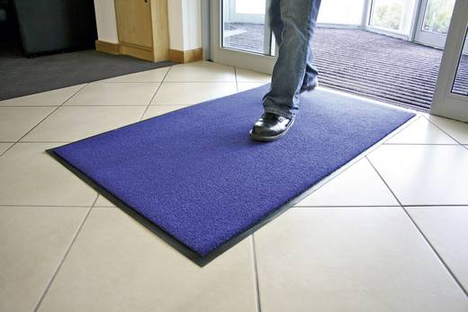 COBA Europe PP020002 Schmutzfangmatte Entra-Plush Blau (L x B) 1.5 m x 0.9 m 1 St.