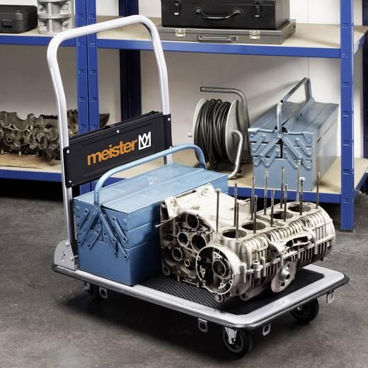 meister werkzeuge 8985540 plattformwagen klappbar mit ablagefach stahl traglast max 300 kg. Black Bedroom Furniture Sets. Home Design Ideas