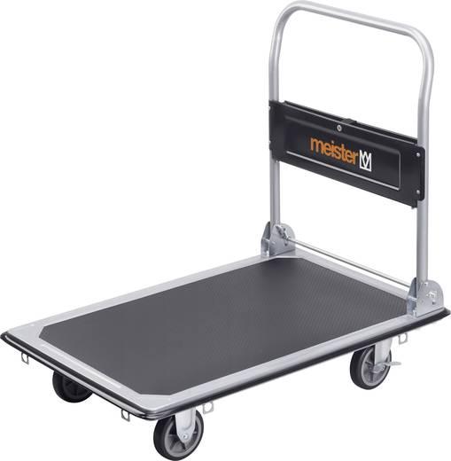 Plattformwagen klappbar, mit Ablagefach Stahl Traglast (max.): 300 kg Meister Werkzeuge 8985540