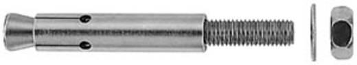 Bolzenanker Fischer FZA 10 x 40 M 6/10 A4 60 mm 10 mm 60772 25 St.