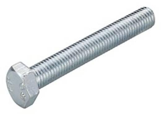 Sechskantschrauben M6 20 mm Außensechskant Stahl galvanisch verzinkt 100 St. Fischer SKS 79711
