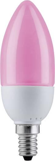 Energiesparlampe Paulmann 230 V E14 5 W Rot EEK: Spezialleuchtmittel Kerzenform Inhalt 1 St.