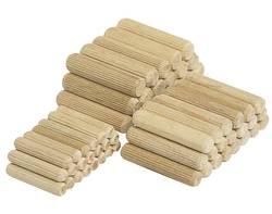 30 longues chevilles en bois, hêtre ø10x40mm Wolfcraft 2910000