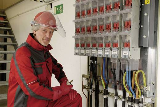 Voss Helme 2689 PE-Elektrikerhelm 6-Punkt EN 397 und EN 50365 (0682 Teil 321):2002-11 Rot