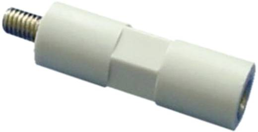 Isolierdistanzbolzen (L) 30 mm M4x7 mm Polyester, Stahl verzinkt 4S30 1 St.