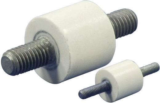Isolierstützer rund (Ø x H) 20 mm x 18 mm M8 x 15 Polyester, Stahl glasfaserverstärkt, verzinkt C20.18-M8.15-M8.15 1 St.